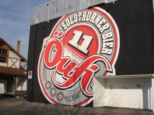Das Logo der Öufi Brauerei