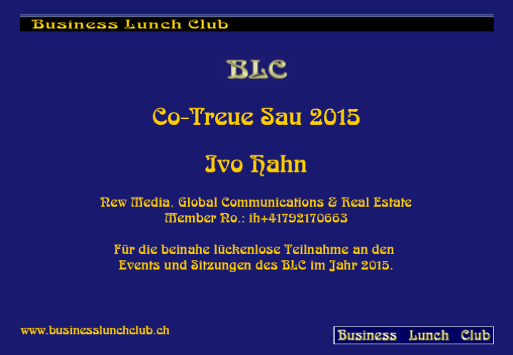 Co-Treue Sau 2015 Ibo